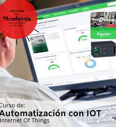 Automatiación con IOT (Internet Of Things) con M241